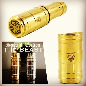 The Beast Mod by Phenom Vaporizers - Special Edition Brass